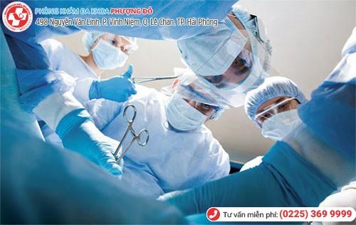 Điều trị bằng ngoại khoa phẫu thuật
