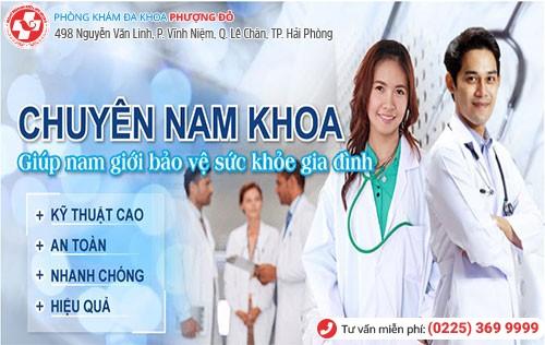Đa Khoa Phượng Đỏ điều trị bệnh nam khoa hiệu quả