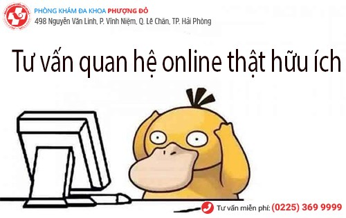 Tư vấn quan hệ online đảm bảo bí mật