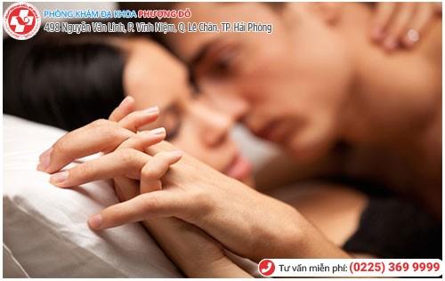 Quan hệ tình dục thô bạo gây nghẹt bao quy đầu