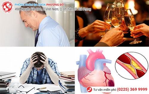 Những nguyên nhân gây rối loạn cương dương