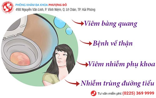 Nguyên nhân tiểu ra máu ở phụ nữ