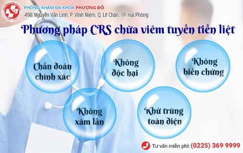 Phương pháp chữa viêm tuyến tiền liệt CRS