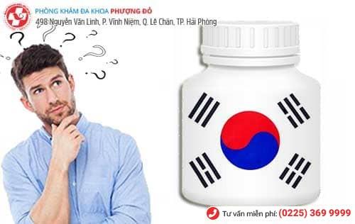 Thuốc chữa yếu sinh lý Hàn Quốc loại nào tốt nhất
