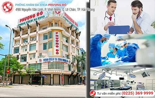 Địa chỉ điều trị các bệnh nam khoa tại Hải Phòng