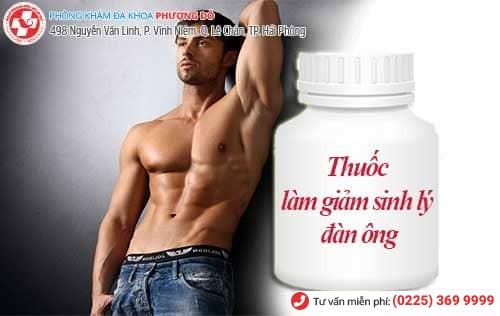 Nên dùng thuốc gì để làm giảm sinh lý nam giới