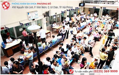 Tình trạng quá tải bệnh nhân ở các bệnh viện nam khoa phụ khoa Hải Phòng