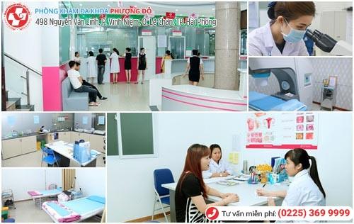 Phòng khám Phượng Đỏ thăm khám nhiều danh mục bệnh khác nhau