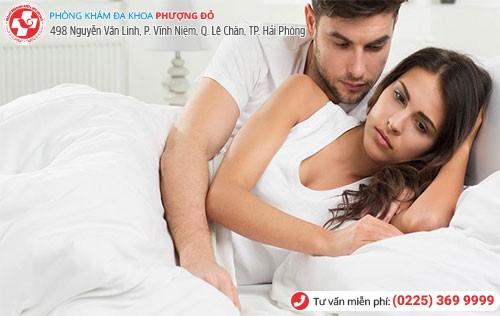 Triệu chứng bệnh liệt dương có biểu hiện đau khi quan hệ