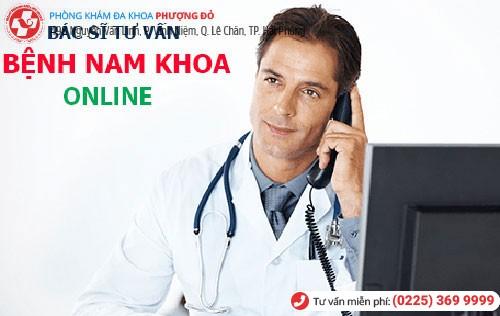 Tư vấn sức khỏe nam khoa online miễn phí