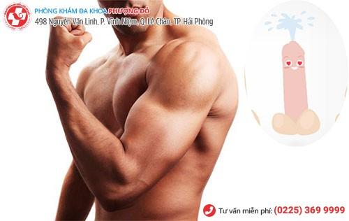 Xuất tinh ảnh hưởng cơ bắp