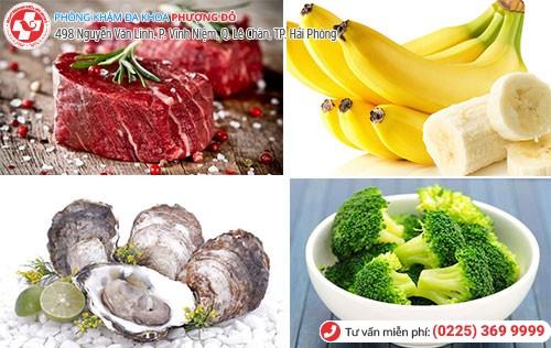 Bị yếu sinh lý nên ăn gì