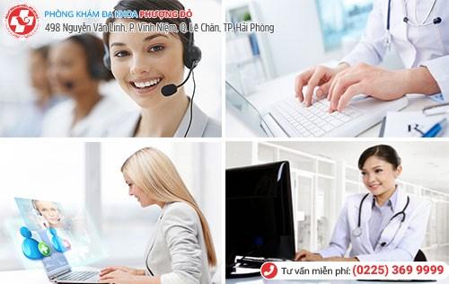 Bác sĩ tư vấn phụ khoa trực tuyến
