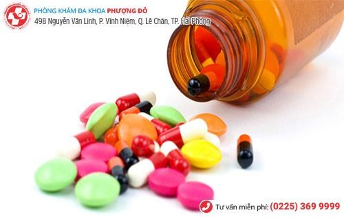 Sử dụng thuốc điều trị viêm lộ tuyến cổ tử cung