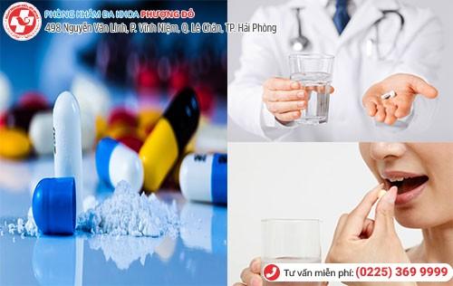 Sử dụng thuốc điều trị kinh nguyệt ra ít