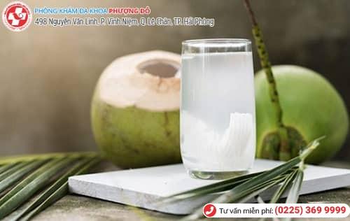 cách phá thai bằng nước dừa