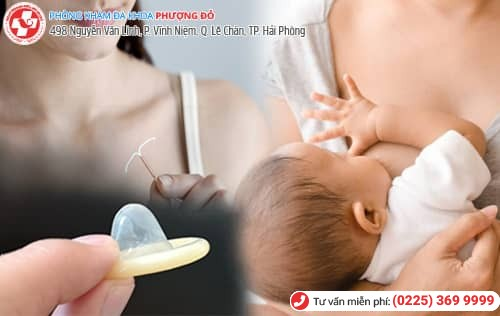 cách tránh thai khi đang cho con bú