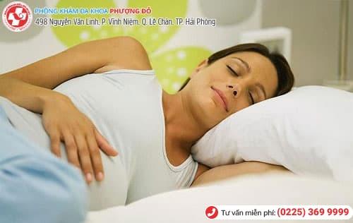khắc phục tình trạng chướng bụng khi mang thai hiệu quả
