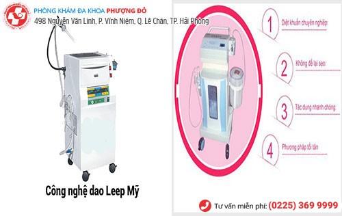 kỹ thuật dao leep và oxygen o3 chữa rối loạn kinh nguyệt