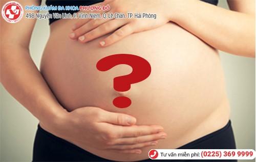 Có rất nhiều nguyên nhân gây đau bụng dưới rốn khi mang thai