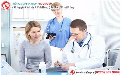 Đa Khoa Phượng Đỏ khám bệnh phụ khoa uy tín tiết kiệm