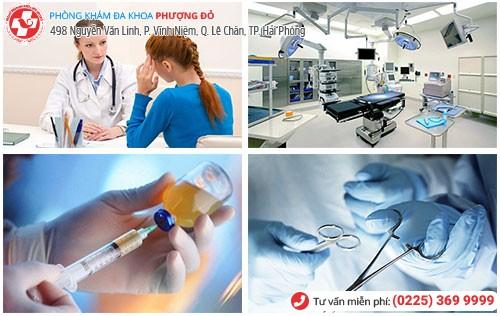 Đa Khoa Phượng Đỏ nơi điều trị bệnh phụ khoa