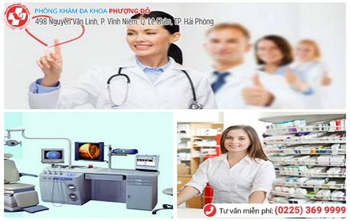 Điều trị khí hư màu nâu hiệu quả tại Đa Khoa Phượng Đỏ