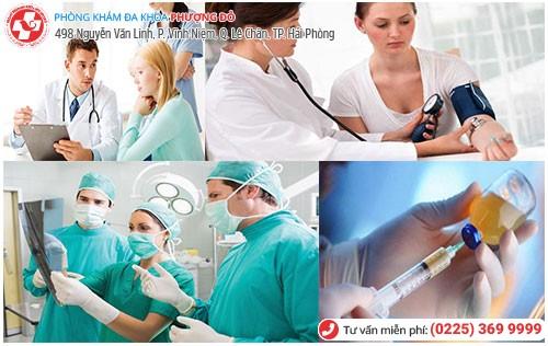 Đa Khoa Phượng Đỏ hỗ trợ điều trị khí hư vón cục