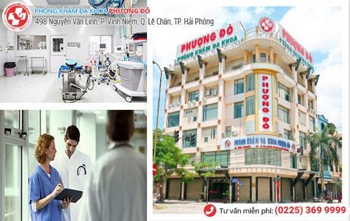 Phòng Khám Phượng Đỏ - địa chỉ phá thai ở bệnh viện phụ sản Hải Phòng