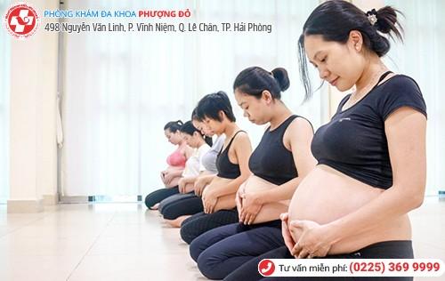Tập yoga giúp giảm đau lưng khi mang thai