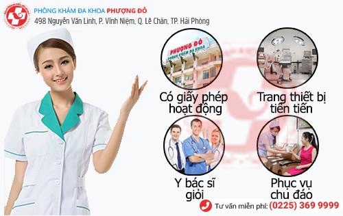 Phòng Khám Đa Khoa Phượng Đỏ chẩn đoán chính xác, điều trị hiệu quả ứ dịch tử cung