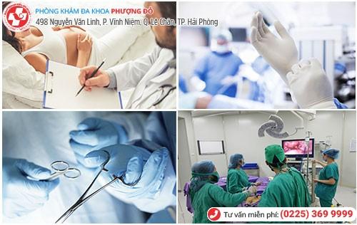 Phương pháp phẫu thuật nội soi thai ngoài tử cung tại