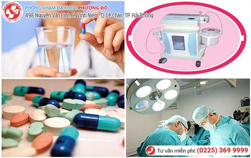 Điều trị nấm âm đạo bằng thuốc và công nghệ Oxygen