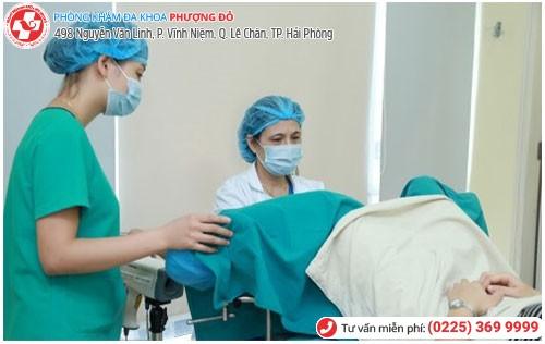 Đa Khoa Phượng Đỏ điều trị bệnh nấm ở tử cung hiệu quả