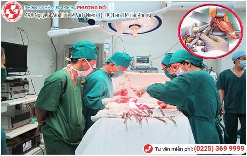 Phẫu thuật cắt bỏ tử cung tại Đa Khoa Phượng Đỏ