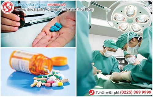 Điều trị u xơ tử cung bằng nội khoa và phẫu thuật