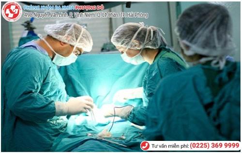 Điều trị bệnh viêm cổ tử cung tại Đa Khoa Phượng Đỏ