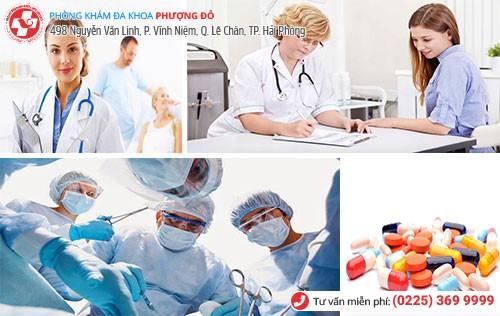 Đa Khoa Phượng Đỏ trị dứt bệnh phụ khoa hiệu quả
