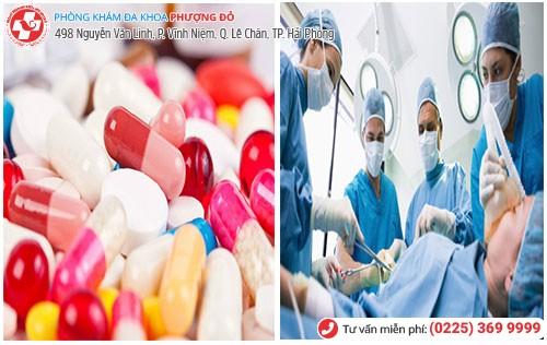 Điều trị kinh nguyệt ra nhiều bằng thuốc và phẫu thuật