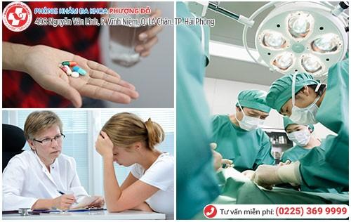 Phương pháp điều trị kinh nguyệt vón cục