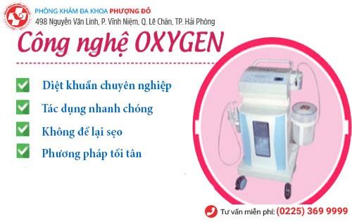 phương pháp điều trị ngứa âm đạo bằng kỹ thuật oxygen
