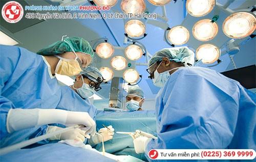 điều trị rong kinh bằng phẫu thuật ngoại khoa