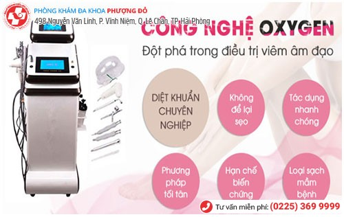 điều trị viêm âm đạo bằng kỹ thuật Oxygen (O3)