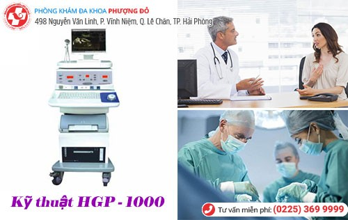 Điều trị viêm vùng chậu bằng kỹ thuật HGP – 1000