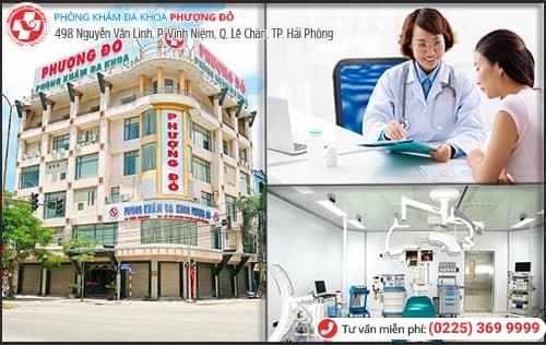 địa chỉ điều trị u nang buồng trứng tại Hải Phòng