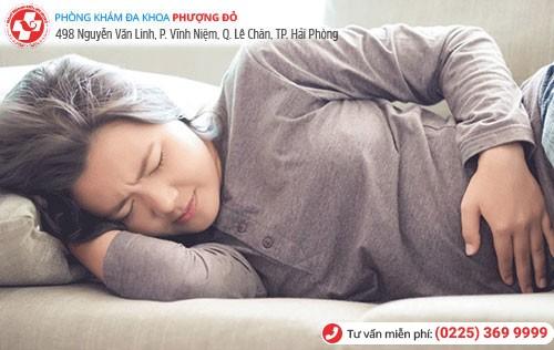 Động thai có thể dẫn đến hiện tượng ra dịch nâu khi mang thai 7 tuần tuổi
