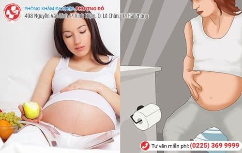 mang thai đi tiểu nhiều