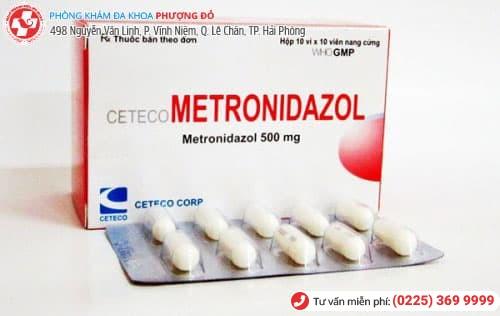 metronidazol thuốc gì