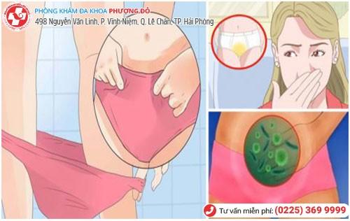 Nguyên nhân viêm nhiễm phụ khoa khi mang thai