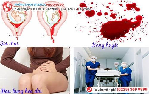 Nguy hiểm từ việc phá thai